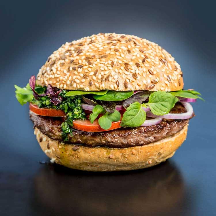 Burger-Time muss auch mal sein